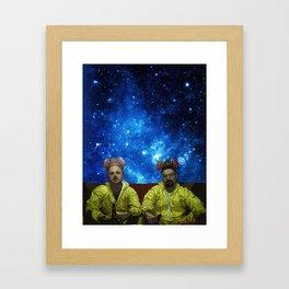 Jesse and Walter Framed Art Print