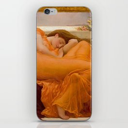 FLAMING JUNE - FREDERIC LEIGHTON iPhone Skin