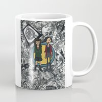 daria Mugs featuring It's a Sick Sad World Daria by MyOwlHasAntlers