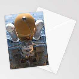 907. Space Shuttle Atlantis, atop the mobile launcher platform Stationery Cards