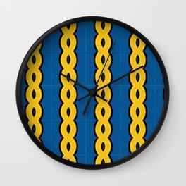 Gold Chain Curtain Wall Clock