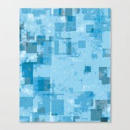 Twelve Pixels Canvas Print