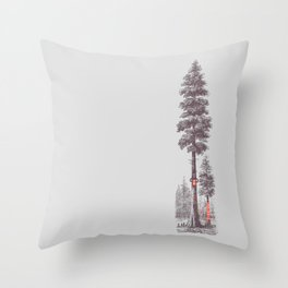 Granny's Hobby Throw Pillow