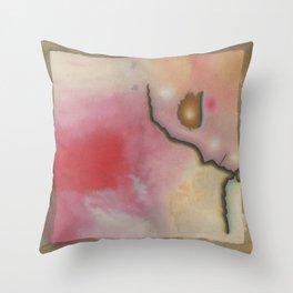 Sad Child Throw Pillow