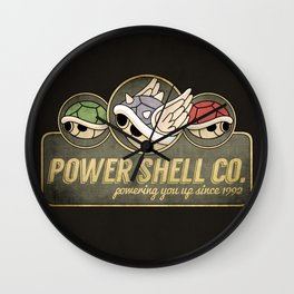 Power Shell Co. Wall Clock