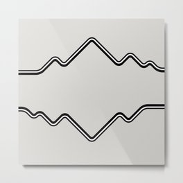 Mountain Vision Metal Print