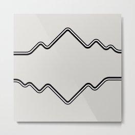 Mountain Vision Metal Print