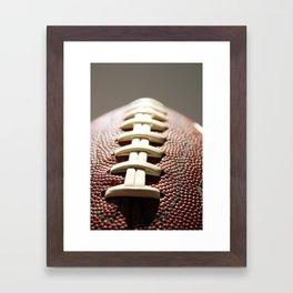 Football Season, American Sports, Pigskin Framed Art Print