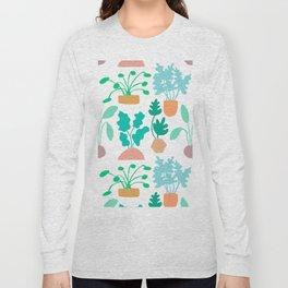Houseplant Garden Long Sleeve T-shirt