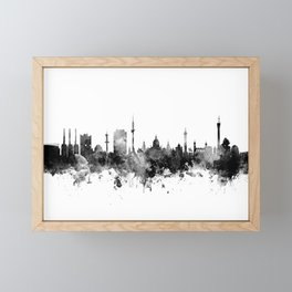 Hannover Germany Skyline Framed Mini Art Print