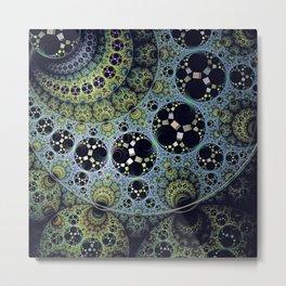 Miraculous patterns in circles Metal Print