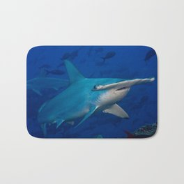 Hammerhead Close Up Bath Mat