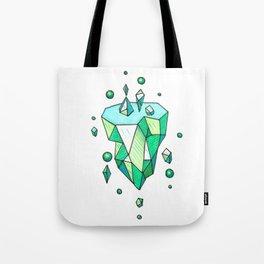 Little Emerald World Tote Bag
