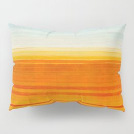 Yellowstone Orange Pillow Sham