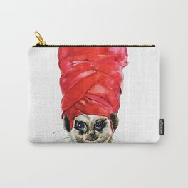 Red Turban Carry-All Pouch