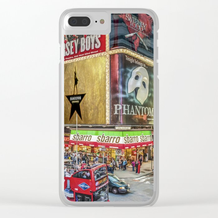 Times Square II Special Edition I Clear iPhone Case