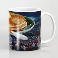 breakfast Mugs featuring Breakfast by Lerson