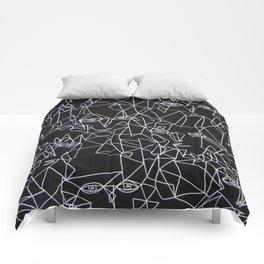 Tracing Faces  Comforters