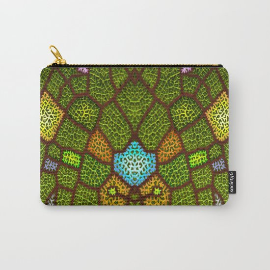 lymph colored Carry-All Pouch