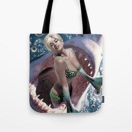 Pin Up Ocean Abyss Tote Bag