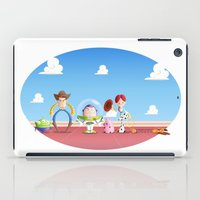 toy story iPad Cases featuring TOY STORY by Ana Xoch Guillén