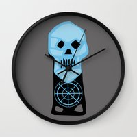 the goonies Wall Clocks featuring The Goonies by FilmsQuiz