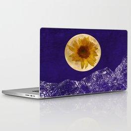 Sunflower Moon Laptop & iPad Skin