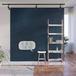 Star Stuff (Science Fiction Wrapping Paper No. 2) Wall Mural