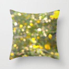 Garden Bokeh 2 Throw Pillow