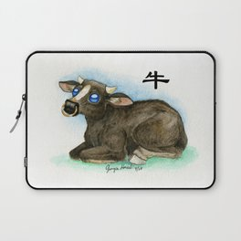 Chinese Zodiac Year of the Ox Laptop Sleeve