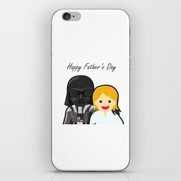 Happy Fathers Day To The Provider Of The Family iPhone Skin