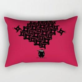 Ninja Tesselations Rectangular Pillow