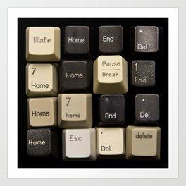 Custom Keyboard Art Print