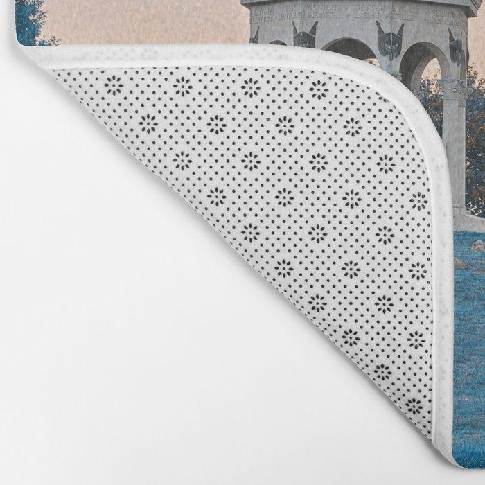 Antietam Sapphire Twilight Bath Mat