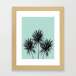 Palm Trees - Cali Summer Vibes #4 #decor #art #society6 Framed Art Print