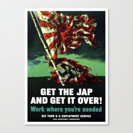 Work Where You're Needed -- World War 2 Canvas Print
