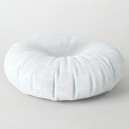 semicircles (2) Floor Pillow