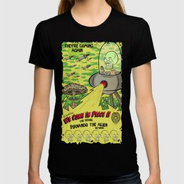 We Come In Peace II The Sequel G T-shirt