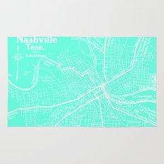 Vintage Nashville Turquois Rug