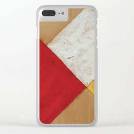 Contra-Composition by Theo van Doesburg, 1925 Clear iPhone Case