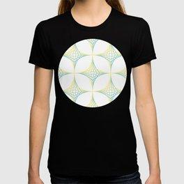 Striped Stars Pattern T-shirt
