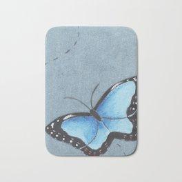 Sapphire Wings Bath Mat
