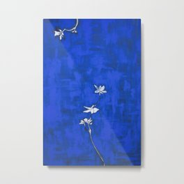 Night blue Metal Print