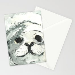 White Seal Stationery Cards