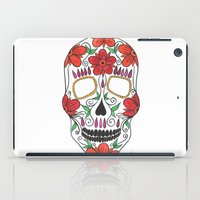 day of the dead iPad Cases featuring Day Of The Dead by Alex + Orlaith