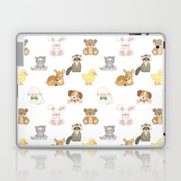 Cute Woodland Farm Baby Animals Nursery Laptop & iPad Skin