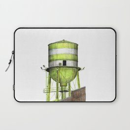 Montreal's Water Tower (Lachine Canal) Laptop Sleeve
