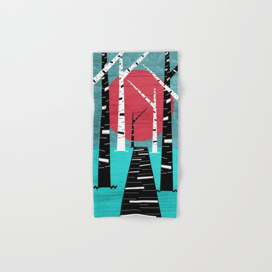Woodland Walk Hand & Bath Towel