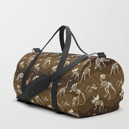 Fossil Dinosaur Pattern Duffle Bag
