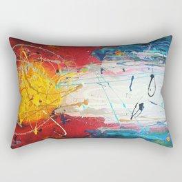 Colorado Abstract Flag #2 Rectangular Pillow